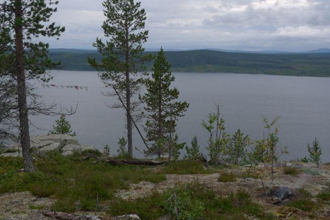 Utsikt från Átjek mot väster