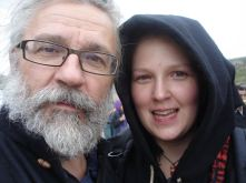 Roland and Evelina selfies