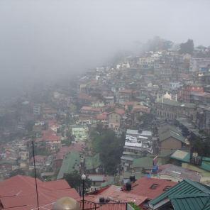 A foggy morning in Shimla