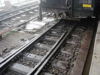 Track for the Shimla Toy Train