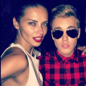 biebs and adriana