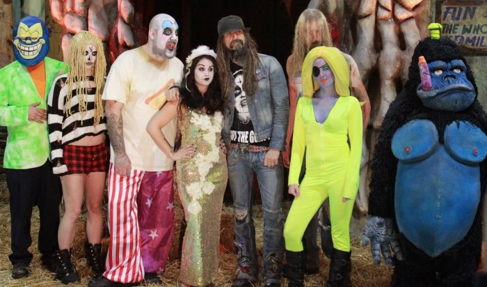 Rob Zombie Great American Nightmare Cast