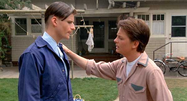 young-crispin-glover and marty mcfly