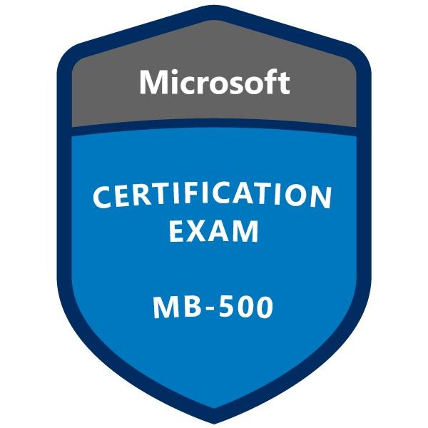 Microsoft Certification Exam MB-500