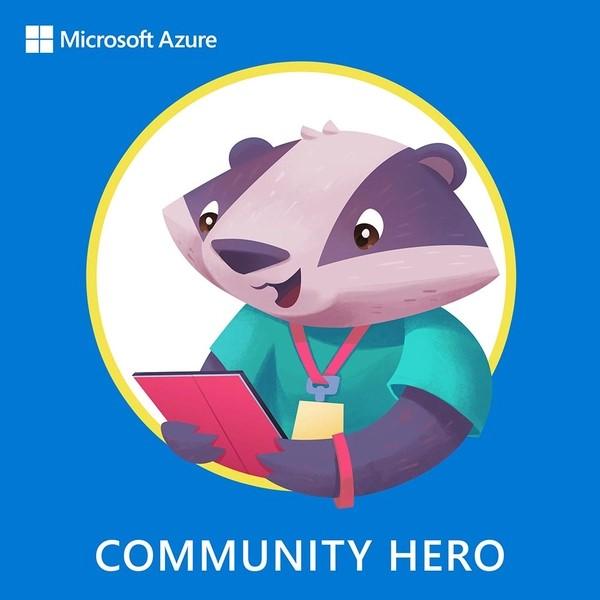 Azure Community Hero #AzureHeroes