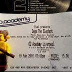 Cage The Elephant Live: O2 Academy, Liverpool 18-02-16