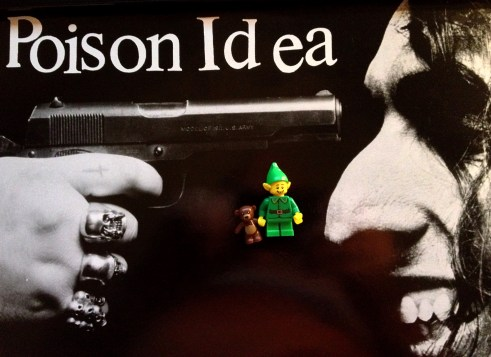 Every time you listen to Poison Idea you make a pixie cry