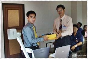 (2548_06_23) การเผยแพร่ผลงานวิจัยในงาน ICTED2005