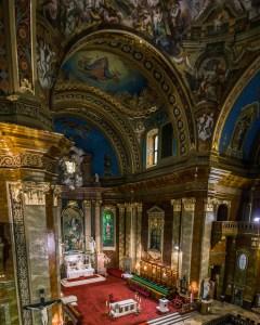 Roman Catholic Basilica Oradea interior