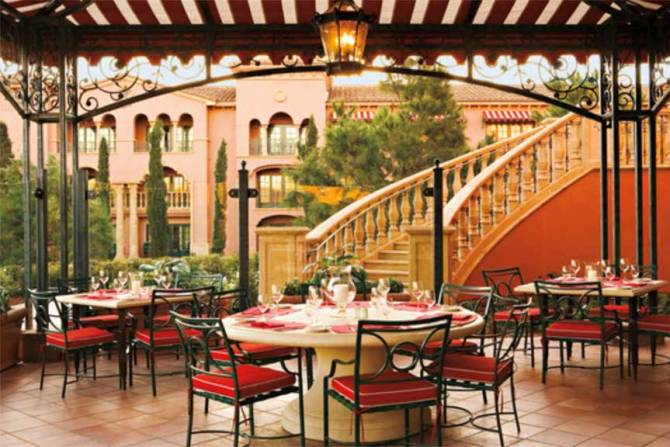 Fairmont Grand Del Mar, Amaya Terrace