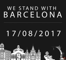 We Stand with Barcelona