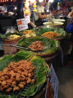 Thai food stall at the mall