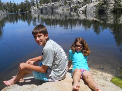 Hiked to Sword Lake, Sierra Nevada