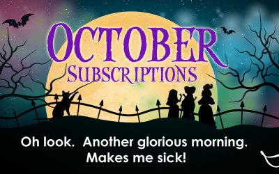 October Subscriptions will have you under a spell!