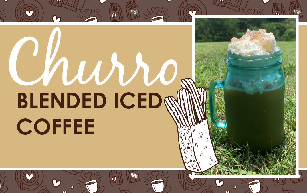 Churro Blended Iced Coffee Recipe