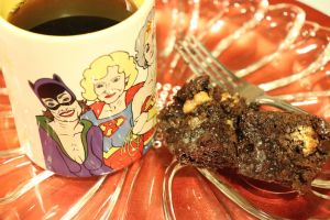 enjoy your samoa brownies with a cup of Java Momma coffee