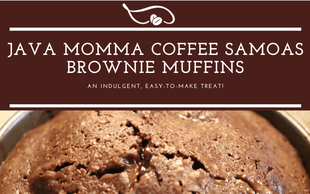 Coffee and Samoas Brownie Muffins by Java Momma