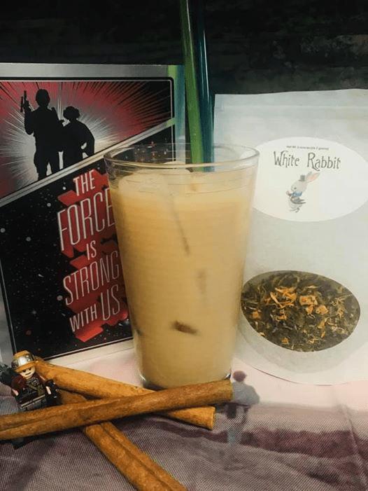 moogan spiced tea drink java momma