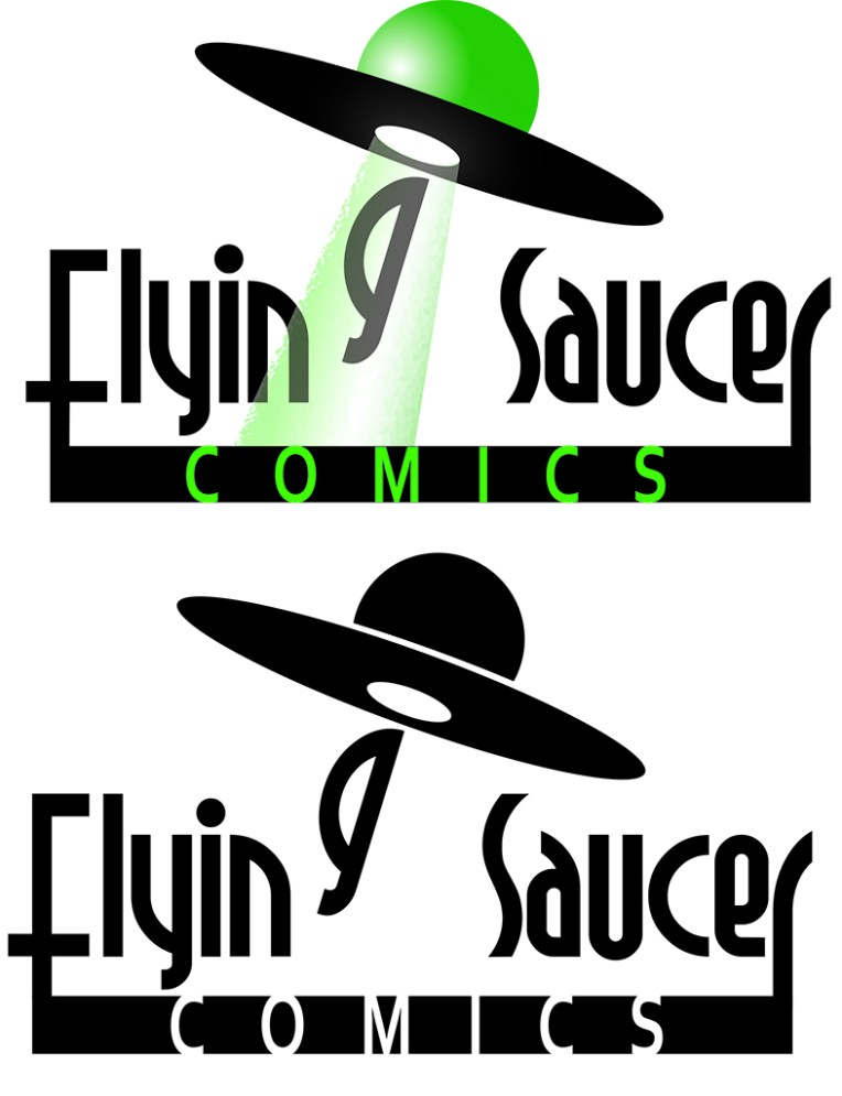Flying Saucer Comics Logo