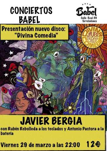 DIVINA COMEDIA   – Javier Bergia Trío – Sala Babel – Torrelodones – Madrid.