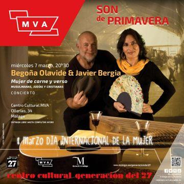 "Begoña Olavide & Javier Bergia ""Mujer de Carne y Verso"""
