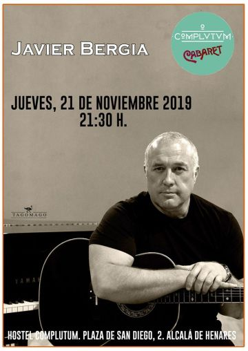 "Javier Bergia ""DIVINA COMEDIA"" EN  ALCALA DE HENARES"
