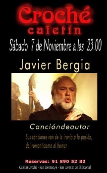 JAVIER BERGIA EN CONCIERTO
