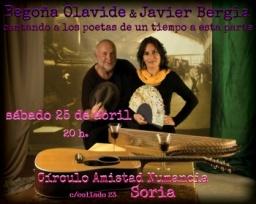JAVIER BERGIA & BEGOÑA OLAVIDE… DIRECTO.