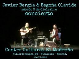 """Javier Bergia & Begoña Olavide S.A.  """" A los Poetas, Burlesco y Ensalada """""""