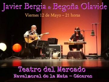 """Javier Bergia & Begoña Olavide """"A los Poetas, Burlesco y otras Verduritas Salteadas"""""""