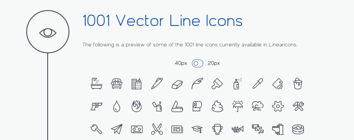 """6 Fuentes de iconos CSS para """"tunear"""" y acelerar tu página web"""