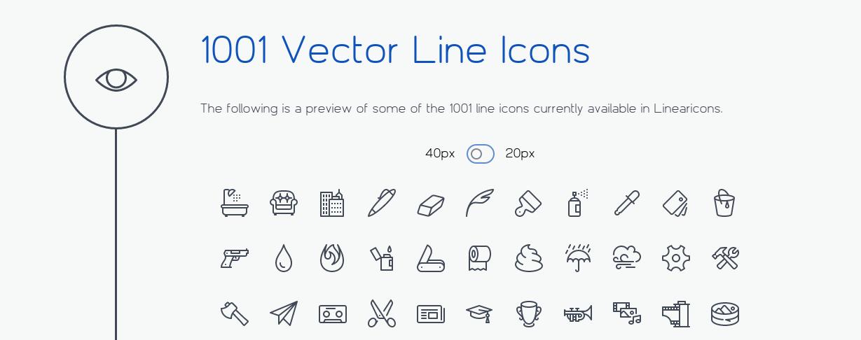 lineari-iconos