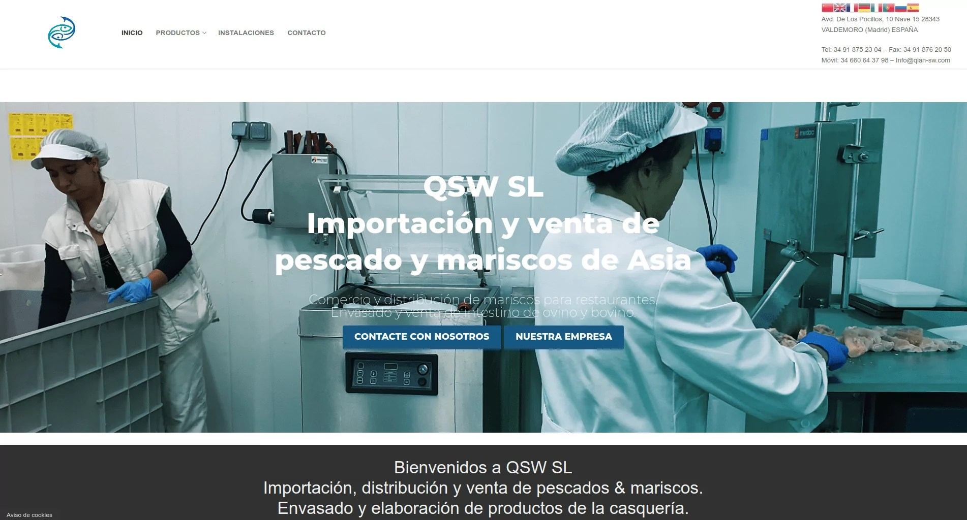 Diseño de web corporativa en Valdemoro