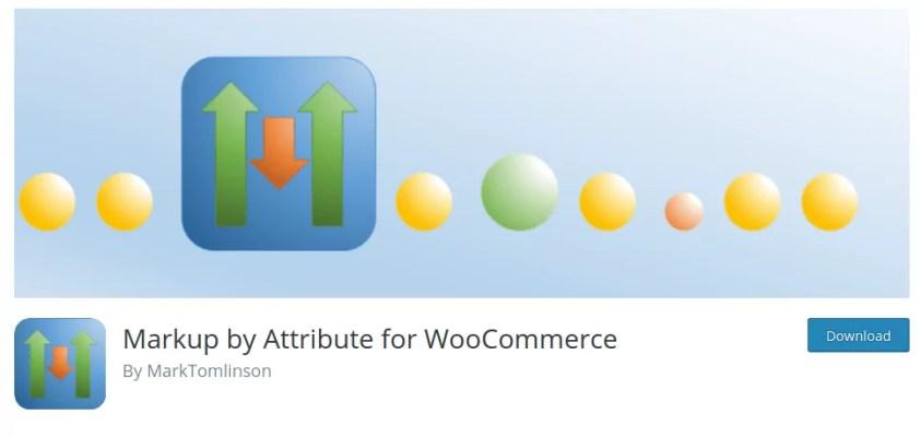 Markup by attribute for WooCommerce - Distinto precio en variaciones de producto WooCommerce