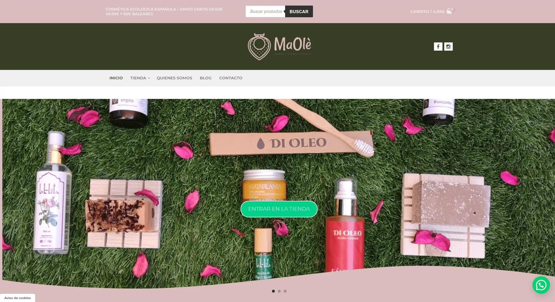 Diseño de tienda online en Toledo