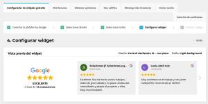 Reseñas de Google en Wordpress