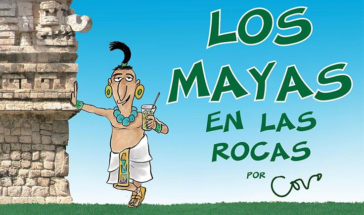 LOS MAYAS (en las rocas)