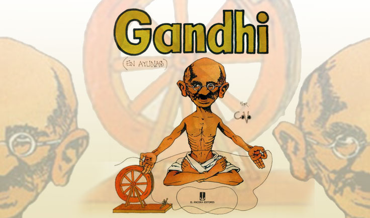 Gandhi (en ayunas)