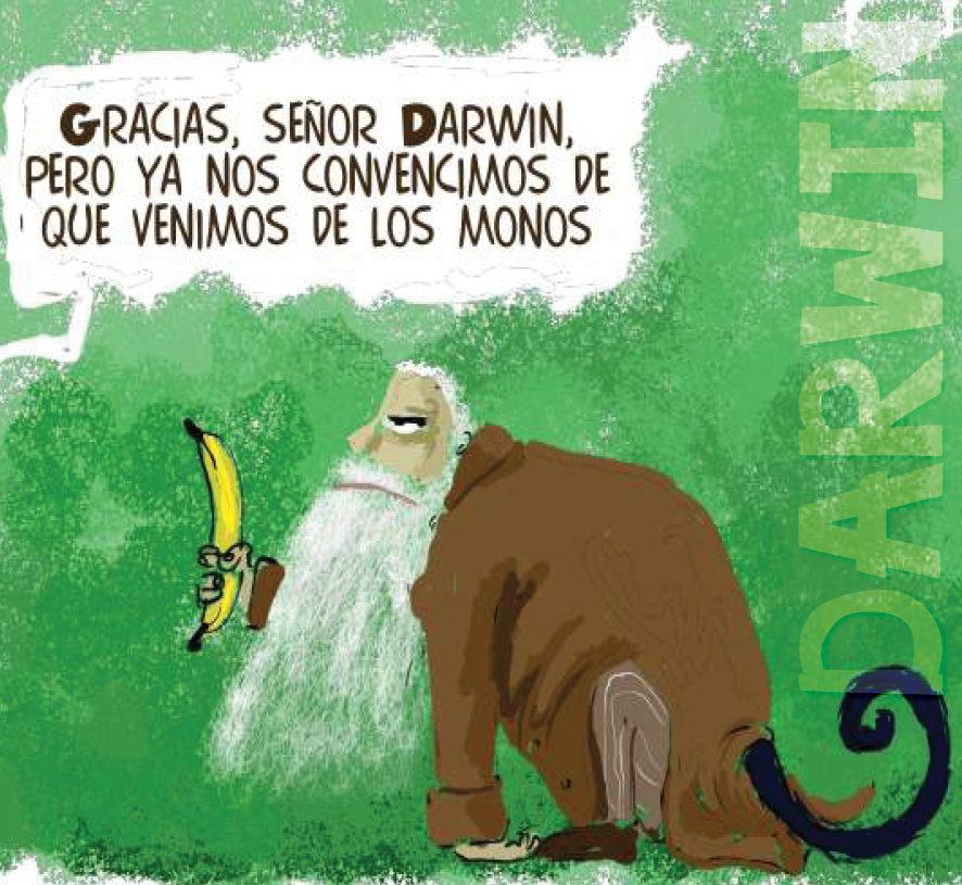 el evolucionismo de charles darwin