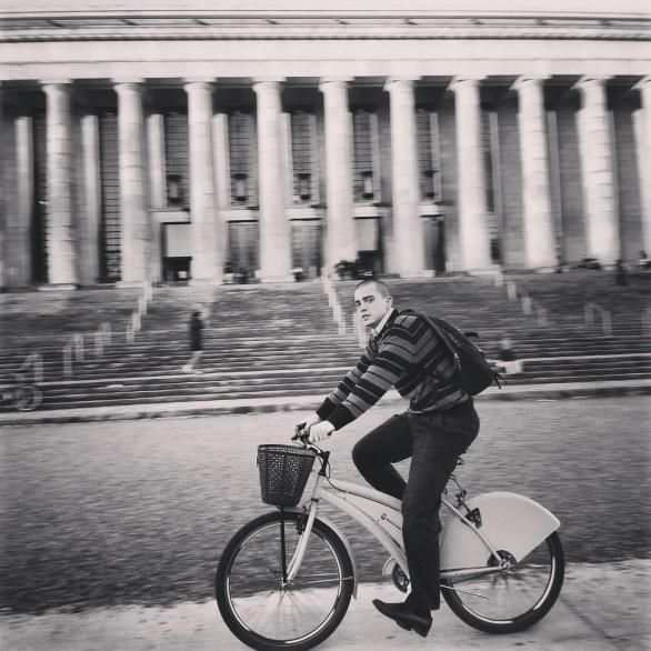 Blanco y negro en la Universidad de Buenos Aires