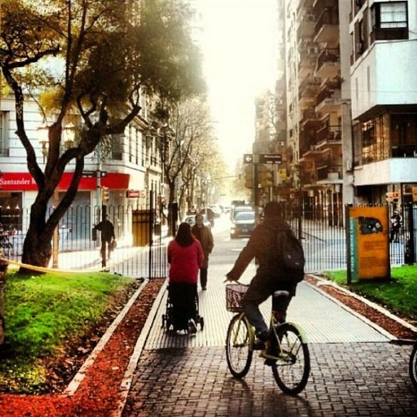 Una tarde en bicicleta Parque Vicente Lopez