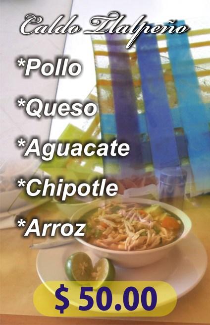 Póster sopa