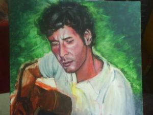Jonás · Retrato · Acrílico sobre linenzo · javiersebastian