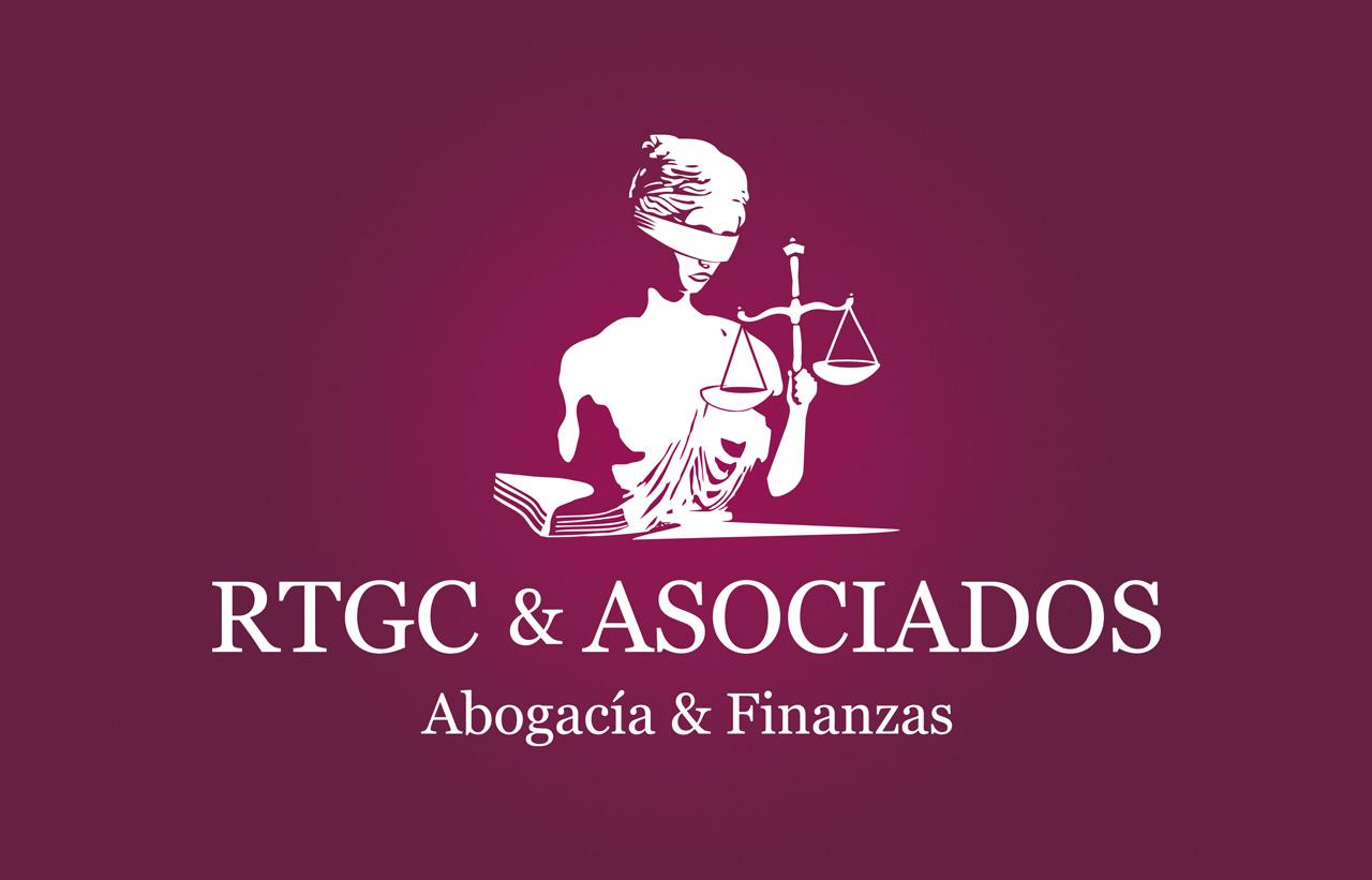 Diseño de Logotipo RTGC & ASOCIADOS. Abogacía y Finanzas. La Palma. Tenerife.