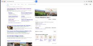 SEO para Web y Tienda Online Puros Palmeros Artesanos Julio Premium. La Palma. Canarias.