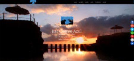 Diseño Web Bar Charco Azul · Tapas con sabor a mar · San Andrés y Sauces · La Palma