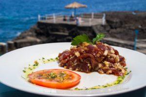 Tartar de Atún Rojo · Bar Charco Azul · Tapas con Sabor a Mar · San Andrés y Sauces · La Palma