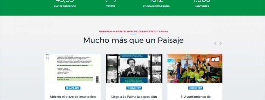 Diseño Web Ayuntamiento de Barlovento