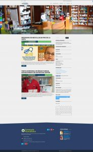 Blog · Diseño Web Autogestionable WordPress Farmacia Puntallana La Palma