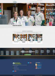 Equipo · Diseño Web Autogestionable WordPress Farmacia Puntallana La Palma
